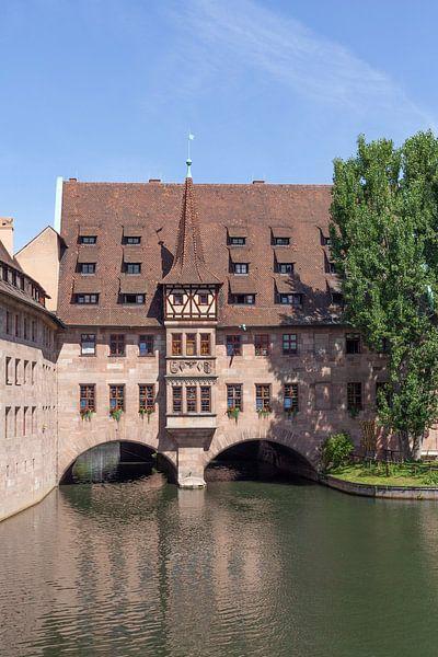 Heilig-Geist-Spital an der Pegnitz, Altstadt, Nürnberg von Torsten Krüger
