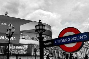 London Underground Piccadilly Circus van