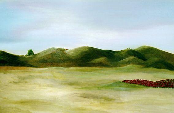 Landschaft van Rosi Lorz