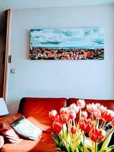 Klantfoto: Terschelling van Sjoerd van der Wal, op canvas