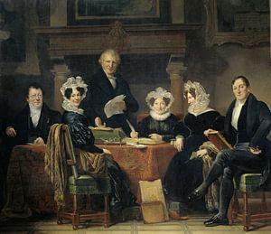 Regenten en regentessen van het leprozenhuis te Amsterdam, 1834-35, Jan Adam Kruseman