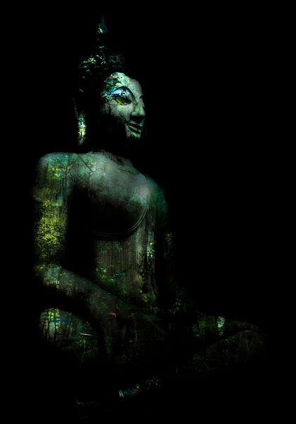 Buddha zittend van Anouschka Hendriks