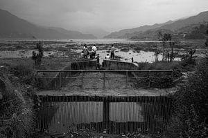 Pokhara-Seeufer von Merijn Geurts