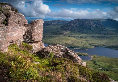 Uitzicht over Loch Lurgainn van