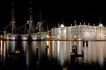 VOC Amsterdam en scheepvaartmuseum van Remco Swiers