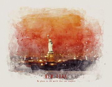 Statue de la Liberté New York sur Christa van Gend