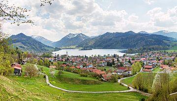 Kurort Schliersee und Seeblick, Oberbayern von Susanne Bauernfeind
