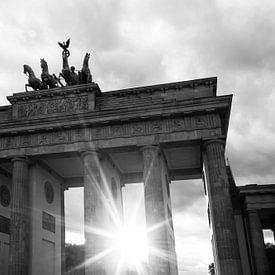 Sonnenuntergang am Brandenburger Tor von Frank Herrmann