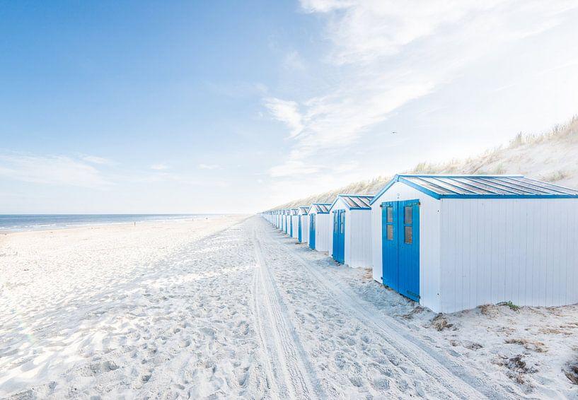 De Koog - Strandkabinen van Hannes Cmarits