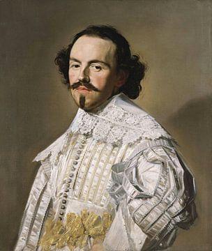 Porträt eines Herrn in Weiß, Frans Hals