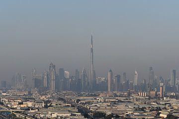 Dubai Skyline von Robert Styppa