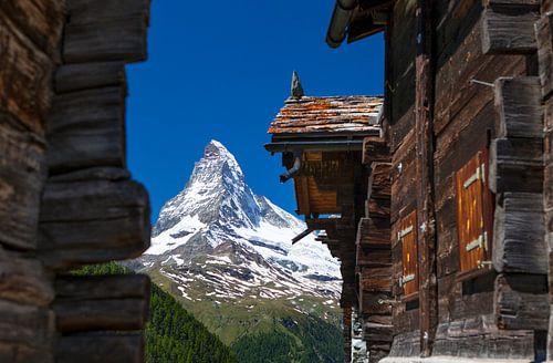 Matterhorn von Findeln von Menno Boermans