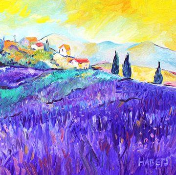 Franse lavendel een dorpje in de Provence van Nicole Roozendaal