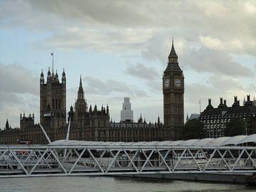 London Big Ben, juni 2013 van Margot van Dijk