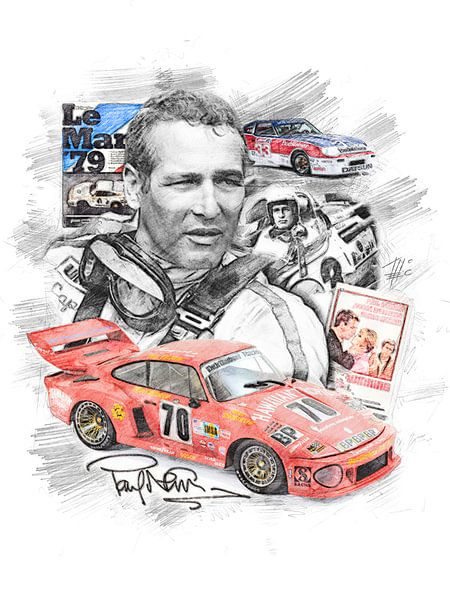 Paul Newman von Theodor Decker
