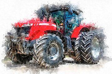Traktor von Peter Roder