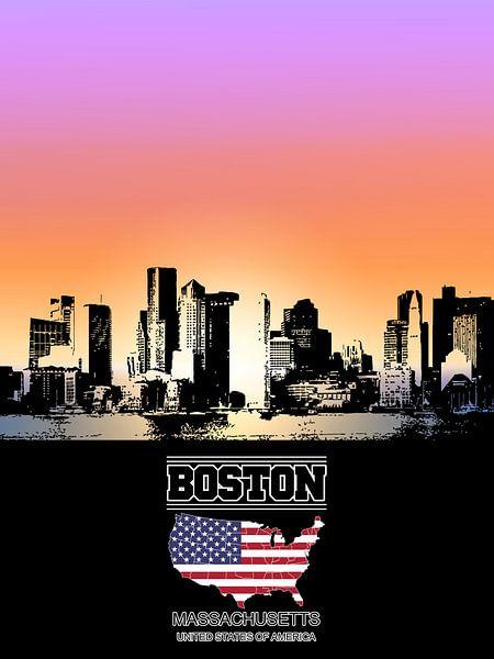 Boston von Printed Artings