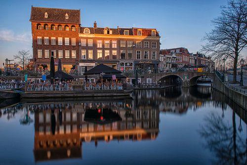 Hoogstraat Leiden van