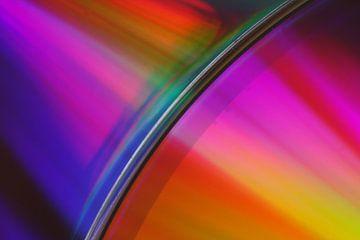 Colourful Disk van Jan Pleiter