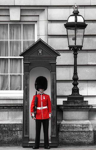 London - the guard van