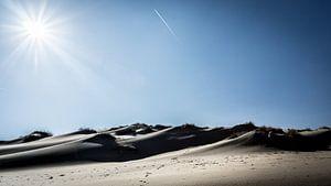 landschap zand van