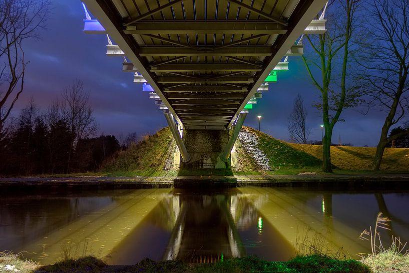 Fietsbrug van Photo Dante