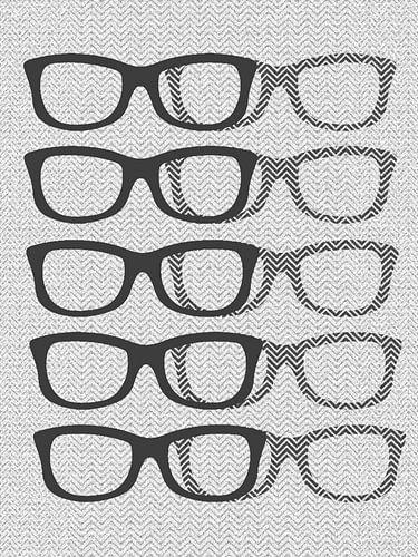 Glasses Black & White