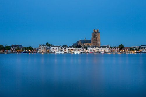 Dordrecht Blauw uur van