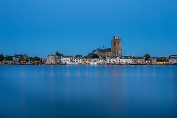 Dordrecht Blauw uur van Peter Verheijen