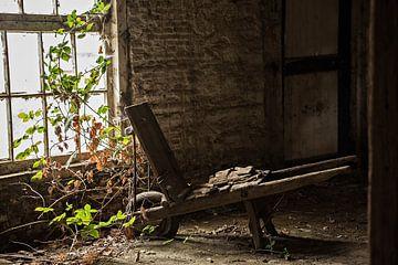 Alte Schubkarre von Cristel Brouwer