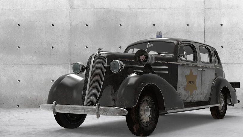 Parkside Cops Car front van H.m. Soetens