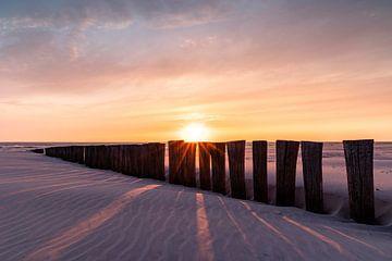 Coucher de soleil à Ameland