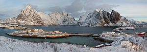 Noorwegen, Panorama Lofoten van