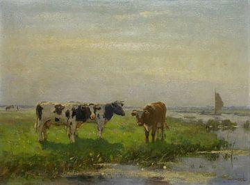 Kühe auf der Weide, Bernardus Antonie van Beek