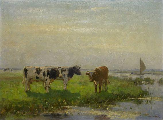 Koeien in de wei, Bernardus Antonie van Beek