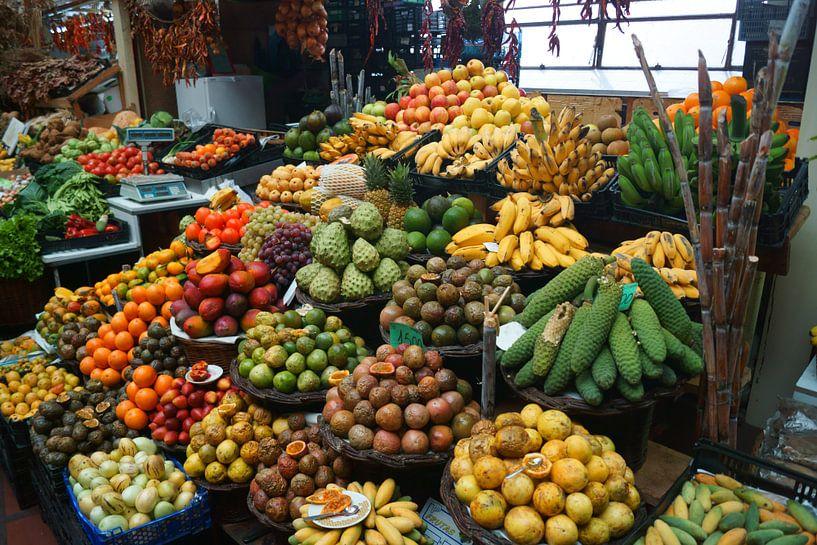 Tropisch Fruit van Michel van Kooten