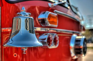 Vintage firetruck von Rob Smit
