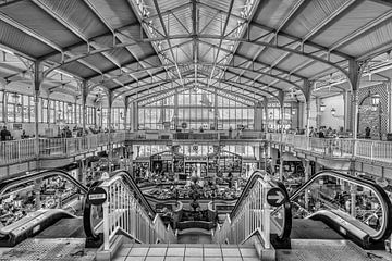 Marché Des Halles Centrales in Les Sables d'Olonne van Don Fonzarelli