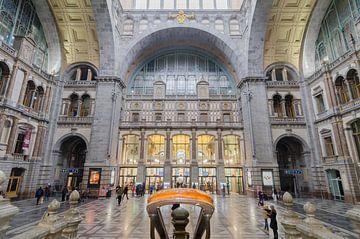 Salle de la Gare Centrale d'Anvers sur Mark Bolijn