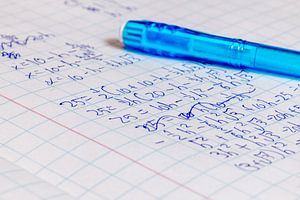 Wiskunde sommen van