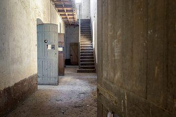 weg naar de verlaten cellen van Kristof Ven