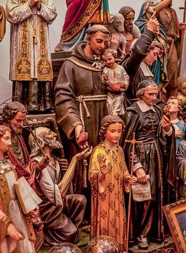 Heiligenbeelden in Museum Vaals van