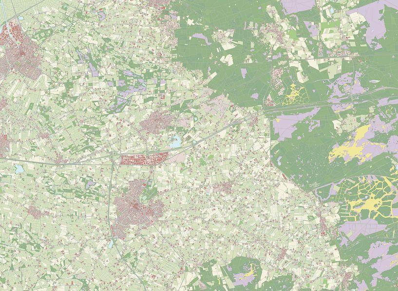 Kaart vanBarneveld van Rebel Ontwerp