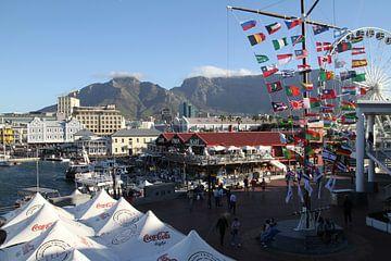Kaapstad Waterfront van Jan Roodzand