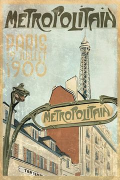 Metropolitain von Bert-Jan de Wagenaar