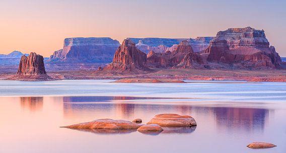 Padre Bay, Lake Powell, USA van Henk Meijer Photography