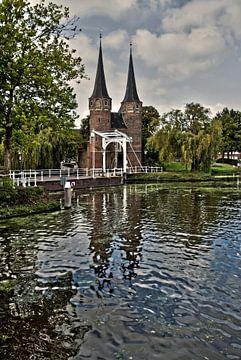 De Oostpoort van Delft van Irene Lommers