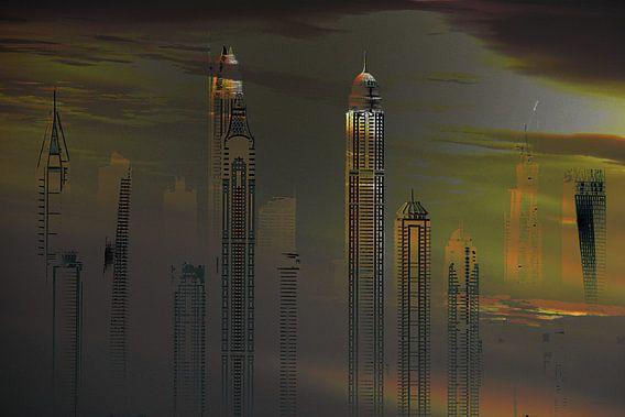 13, City-art, dubai, skyline.