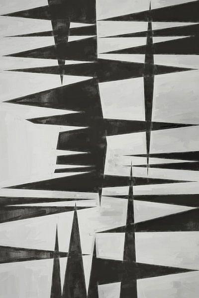 Composition abstraite 589 van Angel Estevez