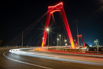 Willemsbrug Rotterdam von Surviking | Trektochten | Outdoor Fotografie